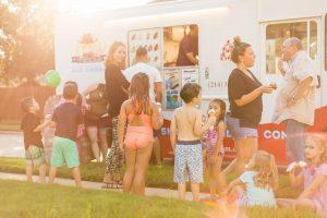 Flower Mound fun with Texas Ice Cream