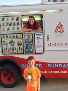 Argyle Texas Ice Cream cone bliss